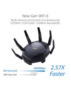 ASUS AX6000 WIFI 6 ROUTER RT-AX89X
