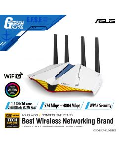 ASUS AX5400 GAMING ROUTER RT-AX82U GUNDAM