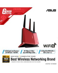 ASUS AX5700 GAMING ROUTER RT-AX86U GUNDAM