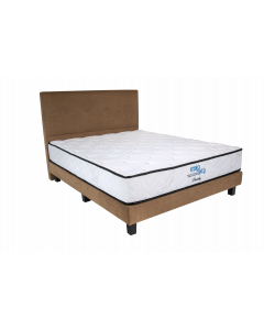 EUROBED MATTRESS + BEDFRAME BEVERLY W BF - Q