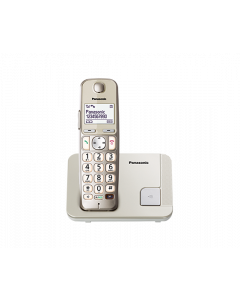 PANASONIC SINGLE DECT PHONE KXTGE210CXN