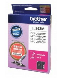 BROTHER INK CARTRIDGE LC263M