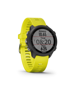 GARMIN RUNNING WATCH W GPS FORERUNNER 245 AMP YELLOW