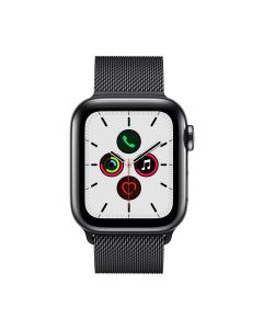APPLE WATCH SERIES 5 GPS+CELLULAR 40MM SPACE BLACK STAINLESS STEEL CASE WITH SPACE BLACK MILANESE LOOP