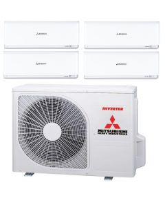 MIT HEAVY SYSTEM 4 AIRCON SCM80YT-S/4XSRK35ZS-W
