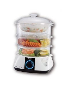 EUROPACE FOOD STEAMER 3-TIER EFSA121