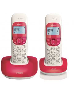 VTECH  CORDLESS PHONE DUO VT1301-2RED