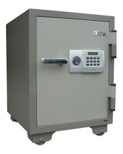 MORRIES FIRE RESISTANT SAFE MS65TD-DIGITAL/KEY/HANDLE