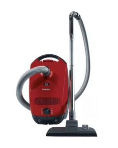 MIELE BAGGED VACUUM 1400W CLASSIC C1 POWERLINE-MANGO RED