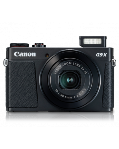 CANON 20.1MP DIGI CAM POWERSHOT G9X MK II BLACK