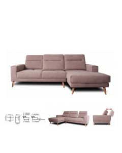 LIZBETH L-SHAPE SOFA LIZBETH-FG3025-2EL+1ERT-MF
