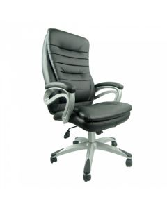 HIGH-BACK LEATHER OFFICE CHAIR ROWELL-719BT-TAS