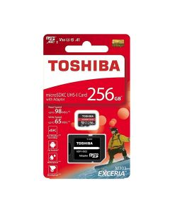 TOSHIBA MICRO SD 256GB WITH ADAPTER
