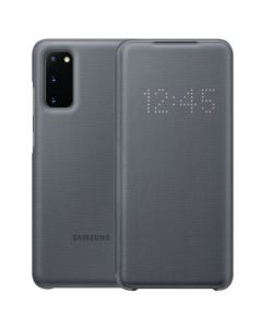 SAMSUNG S20 GRAY COVER S20 LED VIEW COVER