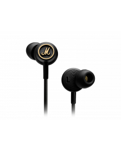 MARSHALL INEAR EARPHONES MODE EQ BLACK AND BRASS