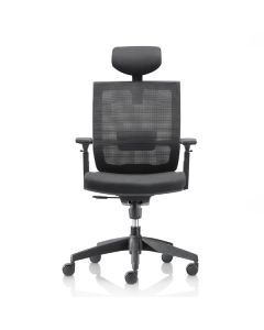 M22 OFFICE CHAIR W HEADREST M22-TAS-WHEADREST