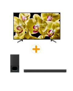 "SONY 55"" 4K ANDROID TV BUNDLE KD-55X8000G - HT-S350/M SP1"