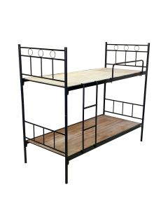 DOUBLE DECKER BED METAL FRAME 239-C2-BLACK