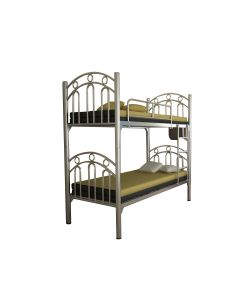 MICKY BUNK BED METAL FRAME CIFF-205-SILVER