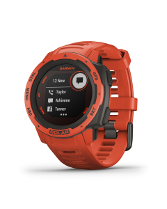 GARMIN INSTINCT FLAME RED GM-010-02293-71 SOLAR