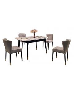 STEYN 1 + 4 DINING SET (EXT) 066 (1+4) EXT