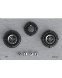 TURBO GLASS HOB - 3 BURNERS T773GV-MS