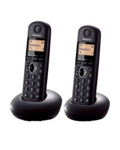PANASONIC TWIN DECT PHONE KXTGE212CXN