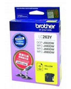 BROTHER YEL CARTRIDGE LC263Y