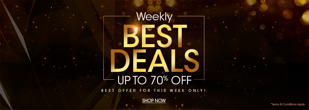 WEEKLY BEST DEALS