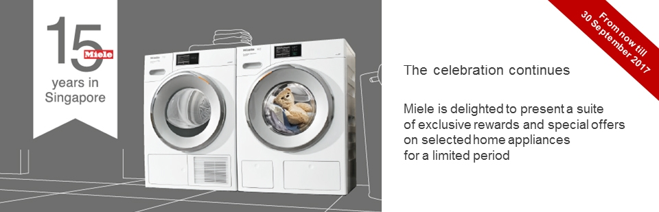 Miele 15th Anniversary