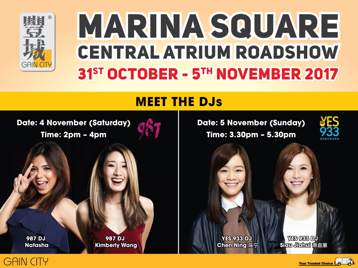 Marina Square Roadshow 2