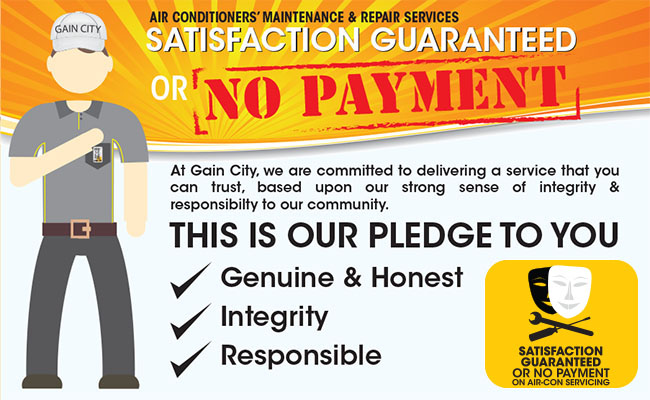 Aircon Maintenance Satisfaction Guaranteed